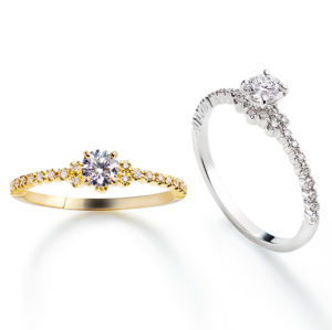 Amour Engagement Ring プラチナ