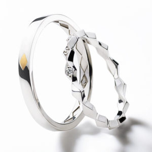 Losanges Marriage Ring