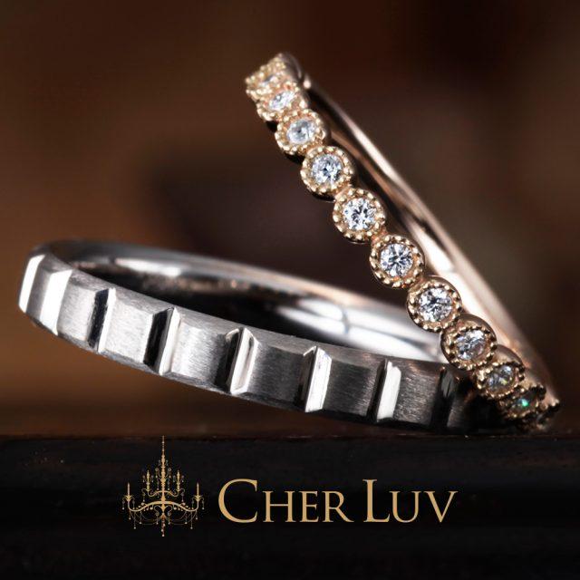 CHER LUV – ミュゲ ダイヤモンドエタニティリング
