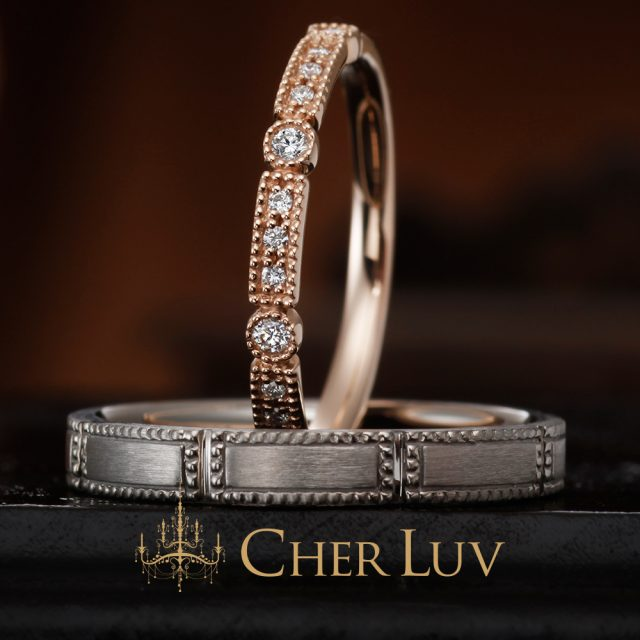 CHER LUV – ラナンキュラス マリッジリング