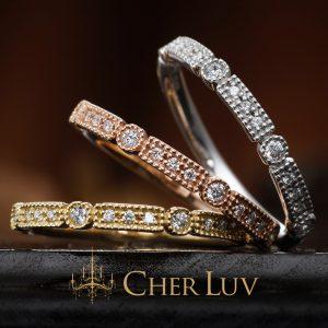 CHER LUV – ラナンキュラス ダイヤモンドエタニティリング