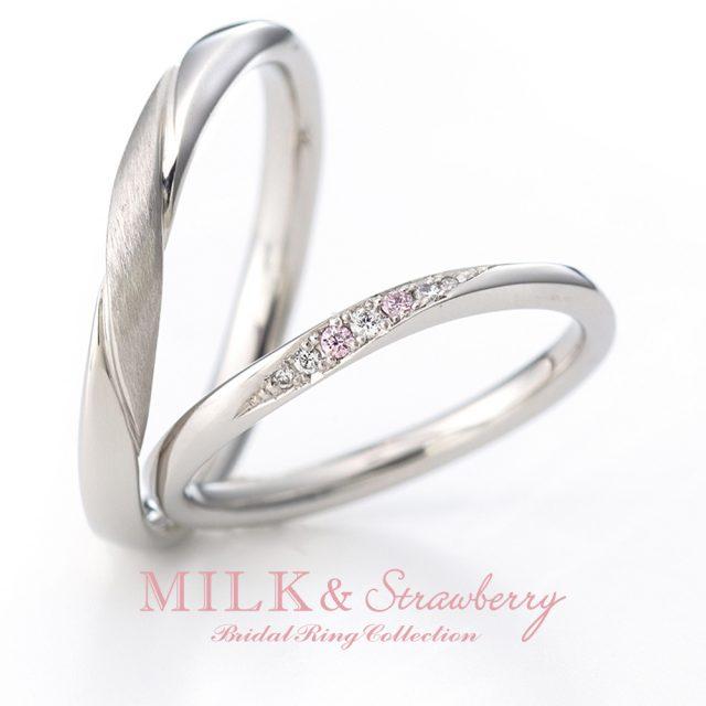 結婚指輪 MILK & Strawberry - ENCHANTER[アンシャンテ]