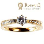 クラシカル感溢れるリングが人気のRosettE【婚約指輪・結婚指輪のJKプラネット】