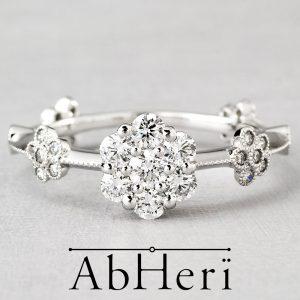 AbHeri – アベリ エンゲージリング 【garland (花綱飾り)】