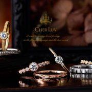 【アンティーク調】愛する気持ちを花ことばと愛ことばで伝える♡『CHER LUV-シェールラヴ-』の結婚指輪【JKPlanet銀座・表参道・九州/ブライダルリングセレクトショップ】