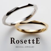 カットを施したデザインの結婚指輪(マリッジリング)をご紹介♪