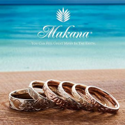 【ハワイからの贈り物】マカナの結婚指輪【JKPlanet/婚約・結婚指輪 専門セレクトショップ】