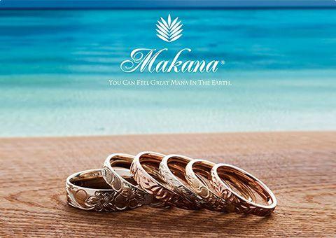 ハワイからの贈り物。Makana(マカナ)の結婚指輪【JKPlanet/婚約・結婚指輪 専門セレクトショップ】