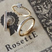 花嫁様に人気ブランドRosettE-ロゼット-の結婚指輪・婚約指輪をご紹介【結婚指輪・婚約指輪のJK Planet】