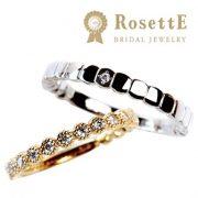 毎日身に付ける結婚指輪(マリッジリング)は、お気に入りの指輪に♫