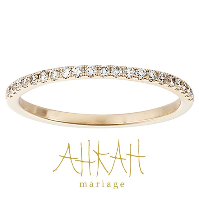 AHKAH – Tina Ring プラチナ・ゴールド