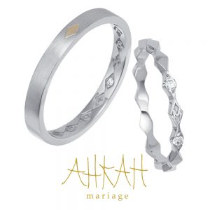Losange Marriage Ring