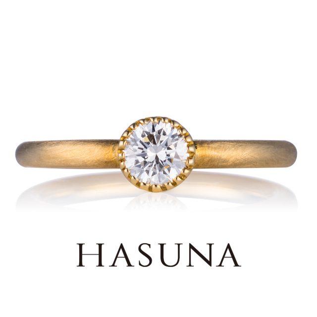 婚約指輪2 ハスナ ER07