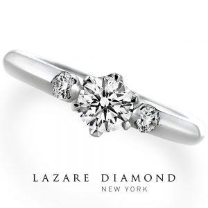 ラザールダイヤモンド 婚約指輪【アンブローズ- AMBROSE】LD093PRD