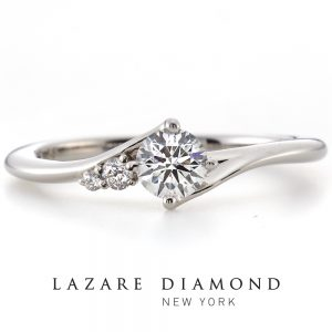 ラザールダイヤモンド 婚約指輪【カシオペア- CASSIOPEIA】LD529PRD
