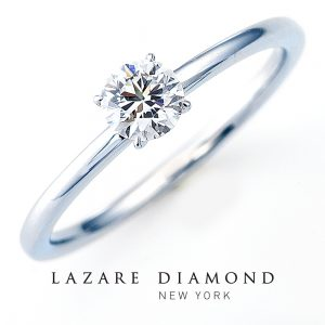 ラザールダイヤモンド 婚約指輪【エンジェルエンゲージ- ANGEL ENGAGE(4点爪)】LD778PR2