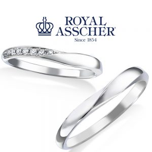 ロイヤルアッシャー 結婚指輪 WRA059/WRB069