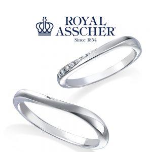 【NEW】ロイヤルアッシャー 結婚指輪 WRA060/WRB070