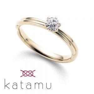 katamu – 縁(えにし)エンゲージリング