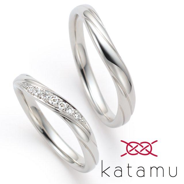 katamu – 木の芽風(このめかぜ)マリッジリング