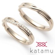 【鍛造製法の結婚指輪ブランド】ふたりの縁を固く結ぶ、Katamu-カタム-【結婚指輪・婚約指輪のJKPlanet】