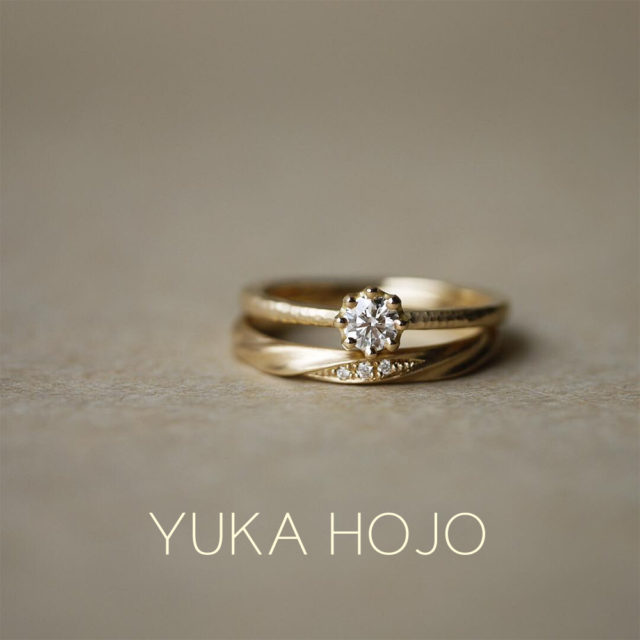 YUKA HOJO – Current/ カレント マリッジリング