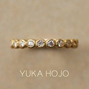 YUKA HOJO – Bloom / ブルーム エタニティリング