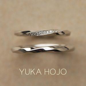 YUKA HOJO – Ray of light/ レイ オブ ライト マリッジリング
