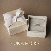 【YUKA HOJO】他にはない風合いを繊細に表現【JKPlanet/婚約・結婚指輪 専門セレクトショップ】