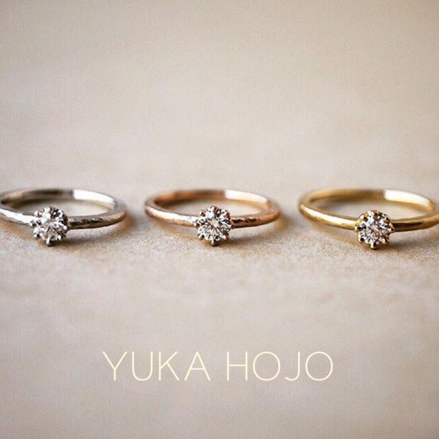 YUKA HOJO – Capri Pt / カプリ プラチナエンゲージリング