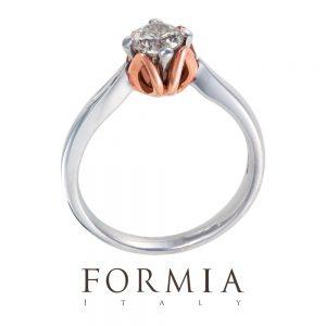 FORMIA – CORONA DI FIORE ROSSO〜コローナディフィオーレロッソ〜 エンゲージリング
