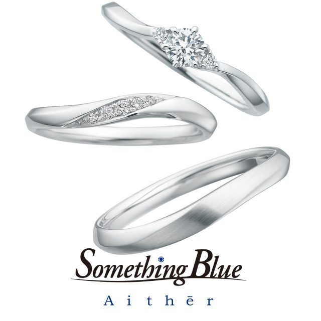 Something Blue Aither – Luster / ラスター マリッジリング SH706,SH707