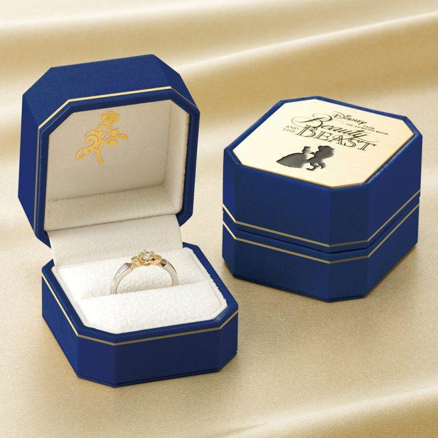 ディズニー「美女と野獣」 ベル・ウィズ・ビースト婚約指輪