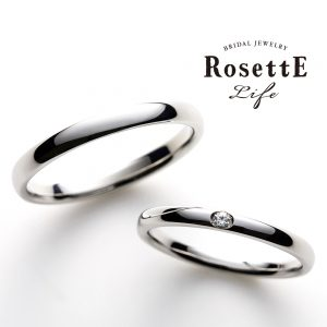 【RosettE Life−ロゼット ライフ】Sincera 〜シンセラ(誠実)〜 マリッジリング