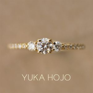 YUKA HOJO – Comet / コメット エンゲージリング