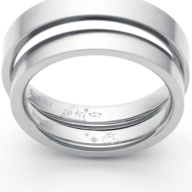 【新作】ディズニープリンセス 「アラジン」 パドマ/【ジャスミン】モデル 結婚指輪(期間限定モデル)