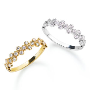 AHKAH – Florent Ring プラチナ・ゴールド