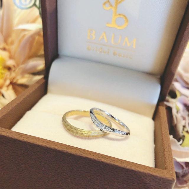 インスタ画像 - BAUM OLIVE [オリーブ] 結婚指輪