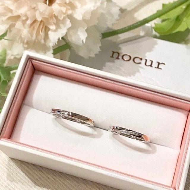 ケース入り結婚指輪画像-ノクル CN-630/CN-631