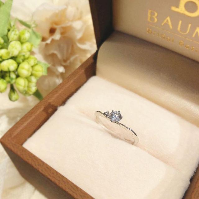 ケース入り婚約指輪画像 - BAUM PIERIS [ピエリス]