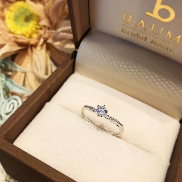 ケース入り婚約指輪画像 - BAUM OLIVE [オリーブ]