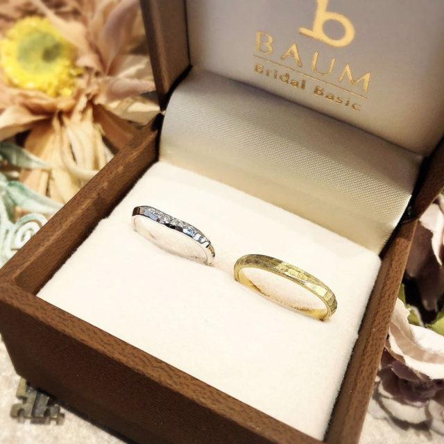 ケース入り結婚指輪画像 - BAUM OLIVE [オリーブ]