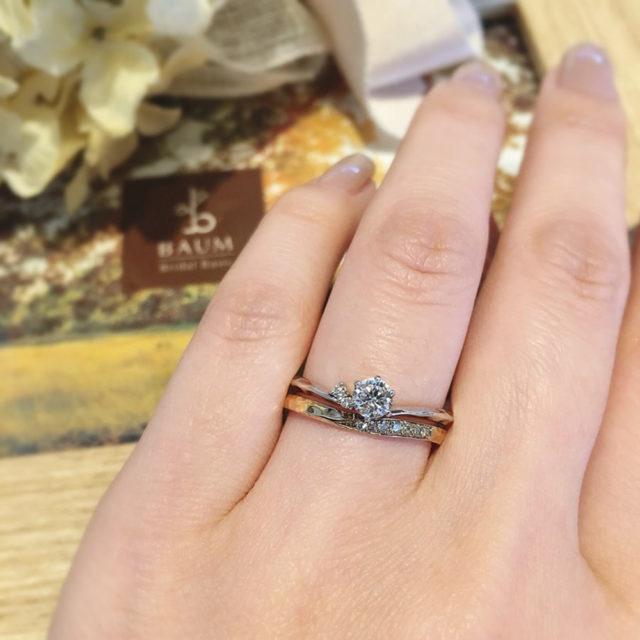 着画 - BAUM PIERIS [ピエリス] 婚約指輪