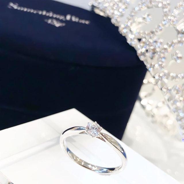 インスタ画像 - Something Blue Aither - Hopeful/ ホープフル SHE001 婚約指輪
