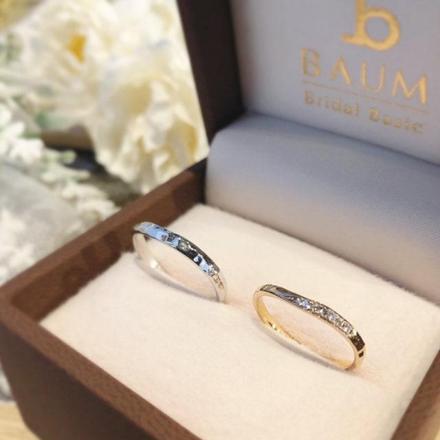 ケース入り結婚指輪画像 - BAUM PIERIS [ピエリス]