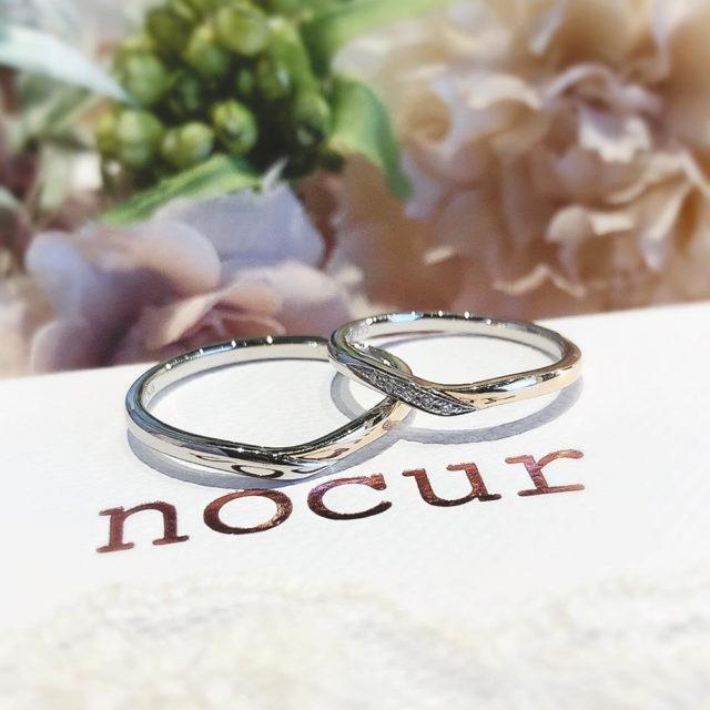 インスタ画像 -ノクル 結婚指輪 CN-634/CN-635
