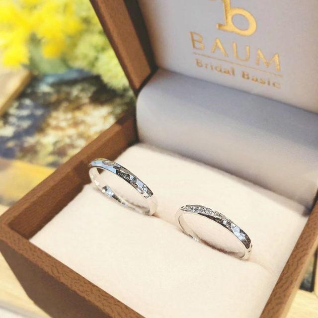 ケース入り結婚指輪画像 - BAUM VIBURNUM [ビバーナム]