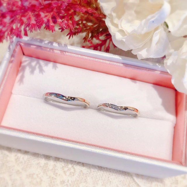 ケース入り結婚指輪画像-ノクル CN-634/CN-635