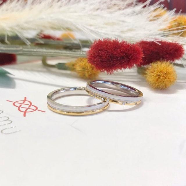 インスタ画像 - katamu - 東雲(しののめ) 結婚指輪