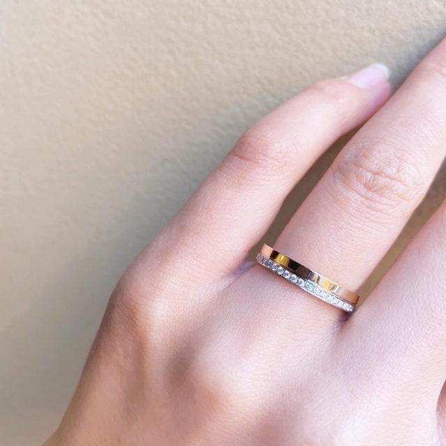 着画 - katamu - 八千代(やちよ) 結婚指輪